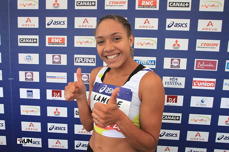 Rénelle Lamote à Reims aux championnats de France en juillet dernier (Photo Yves-Marie Quemener)