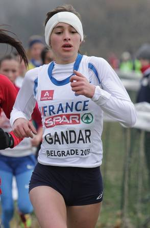Jacqueline Gandar aux Europe de cross 2013 (Photo Gilles Bertrand)