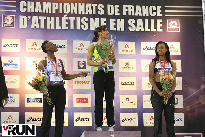 Le podium du Triple