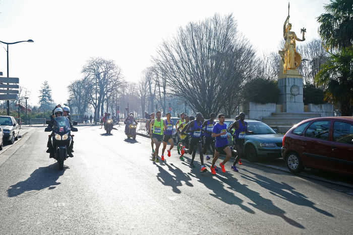 Semi-Marathon de Paris - 08/03/2014 - Paris - France -