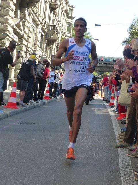 El Hassane Ben Lkhainouch à Zurich (Photo Q.G)