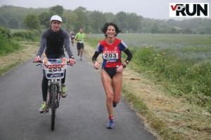 Championnat de France des 100km - Laurence Klein - Christophe rochotte