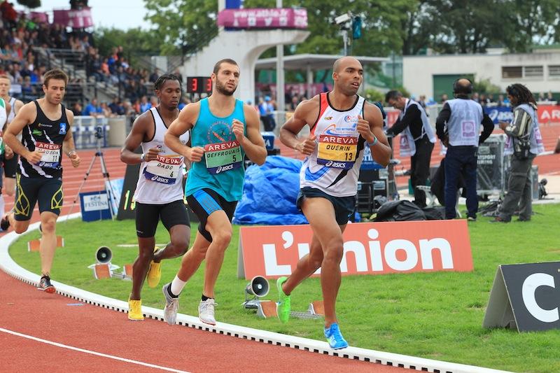 Le 1 500 m aux France Elite à Reims en juillet dernier - Photo Yves-Marie Quemener