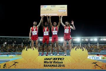 Les Américains sur le DMR - Photo © Getty Images for IAAF