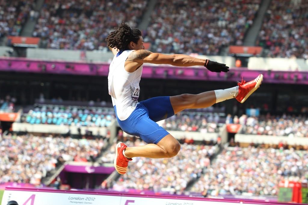 Aux Jeux Paralympiques à Londres (Photo Gilles Bertrand)