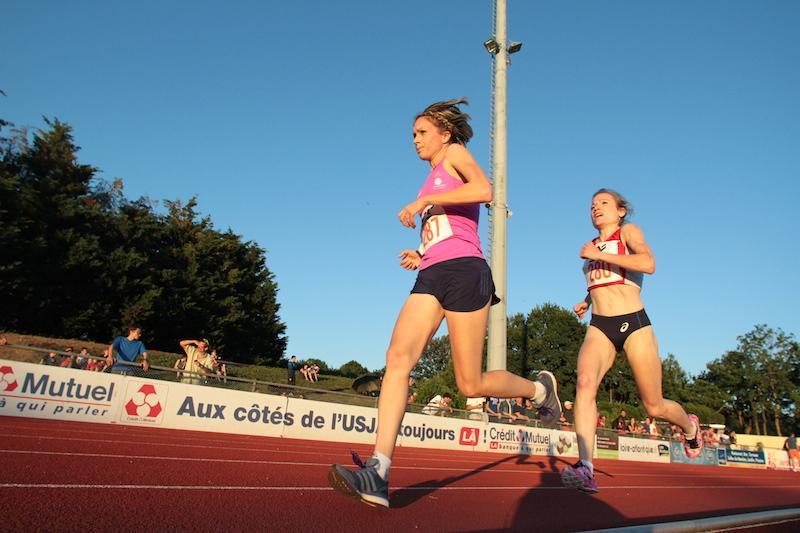 Elodie Navarro et Marion Joly-Testault (Photo Jean-Marc Mouchet)
