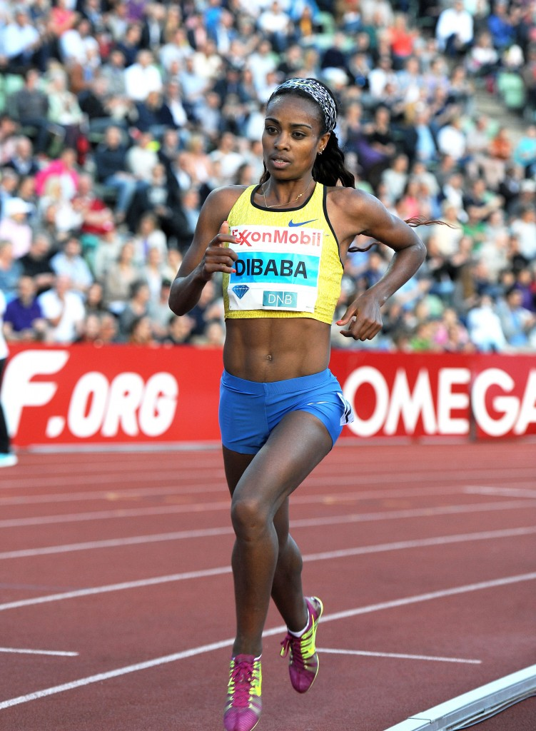 Genzebe Dibaba © Mark Sherman