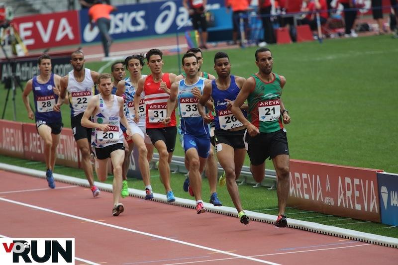 Mohammed Moussaoui en deuxième position (Photo Jean-Marc Mouchet)