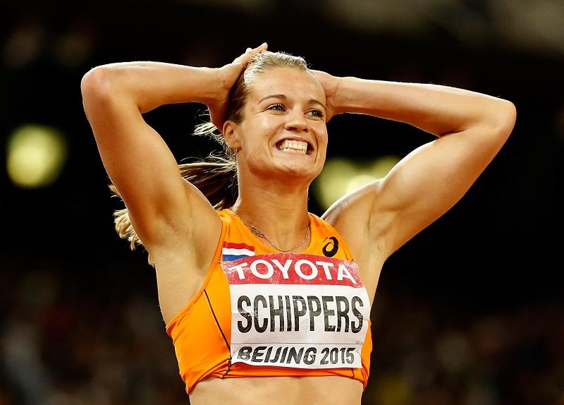 Dafne a chipé le record d'Europe du 200 mètres à Marita Koch