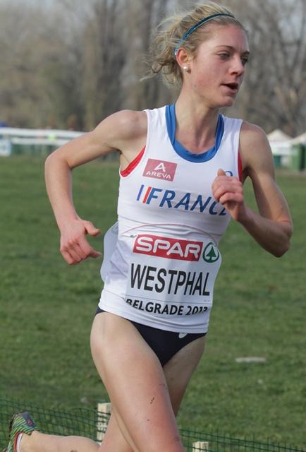 Liv Westphal, 6e chez les espoirs en 2013 (Photo Gilles Bertrand)