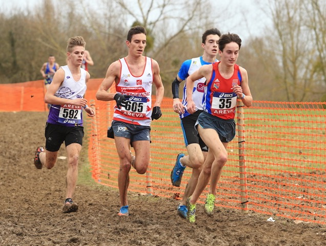 Aux championnats de France de cross en mars 2015 (Photo Yves-Marie Quemener)