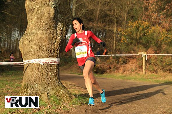 Samira Saad Mezeghrane au cross Ouest-France