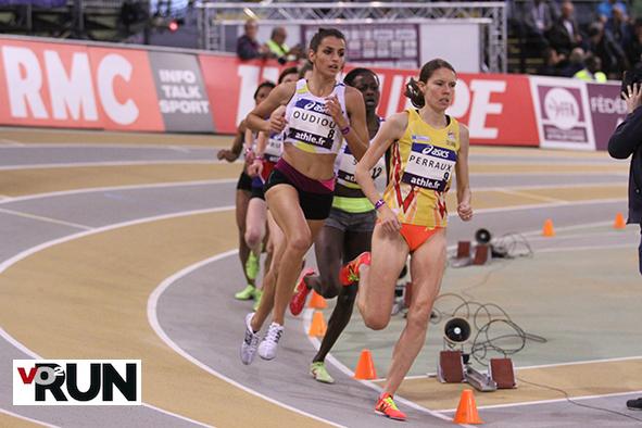 Claire Perraux emmène le peloton du 3 000 m