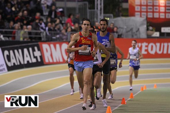 Samir Dahmani a pris les choses en main dans le dernier 400 m