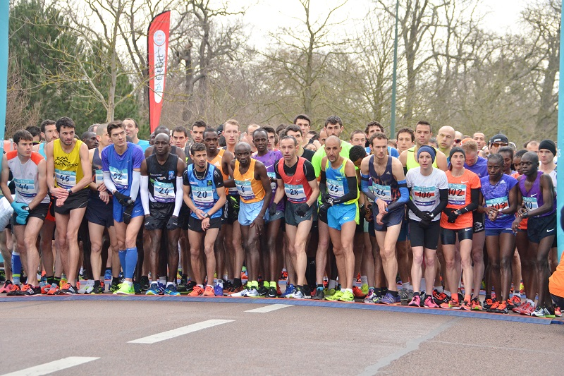 Fitbit Semi de Paris - 06/03/2016 - Paris - France - La course Elite au depart