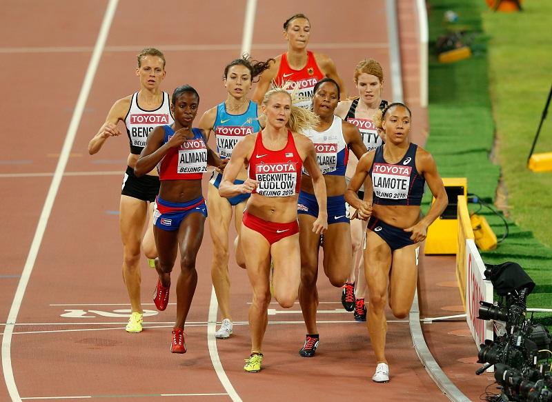 Aux Mondiaux à Pékin (Photo Getty Images/ IAAF)
