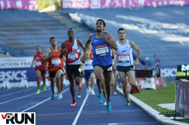 Morhad Amdouni vainqueur du 1 500 m l'an dernier, s'alignera sur 5 000 m
