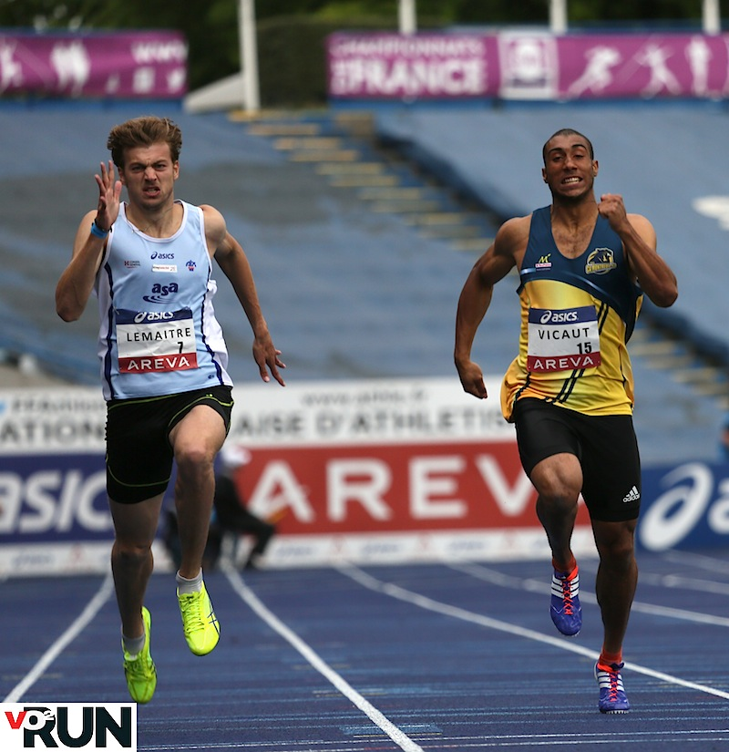 Christophe Lemaitre et Jimmy Vicaut s'affronteront et sur 100 m (où le deuxième a largement l'avantage) et sur 200 m (que le premier domine encore)