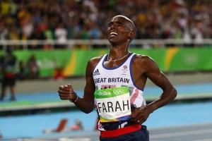 Apparemment, il arrive que Mo Farah souffre...
