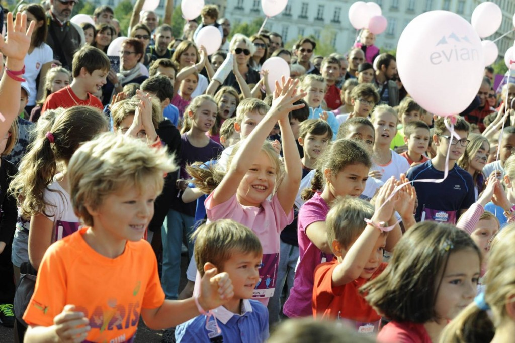 Evian Marathoon's 2 – enfants et ballons