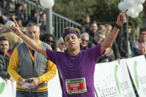 Cédric Pache, 4e du marathon
