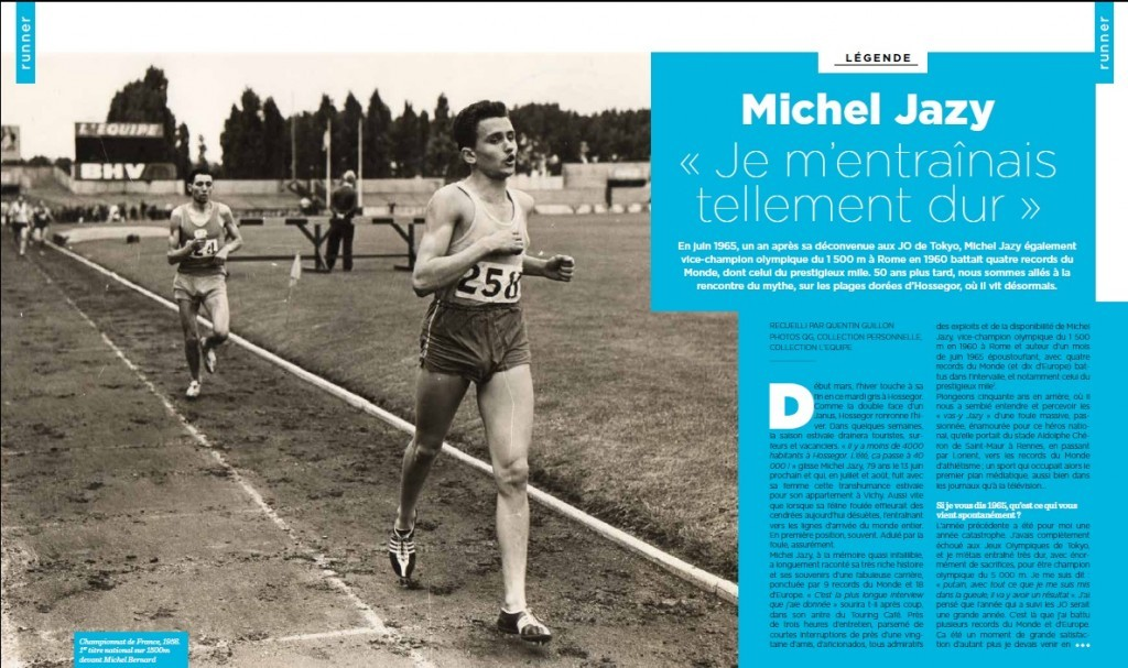 Michel Jazy dans VO2 Run